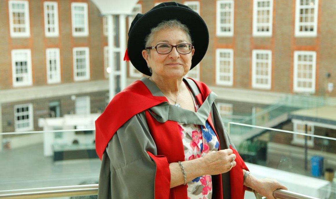 Louise Heilbron honorary degree Middlesex