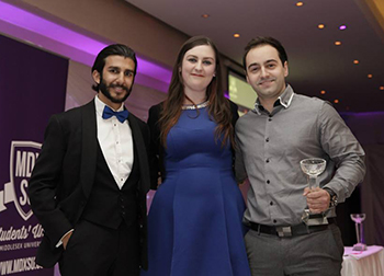 Outstanding students win Students' Union awards