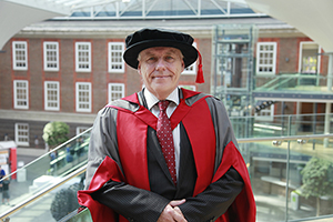 Special educational needs expert given honorary degree by Middlesex