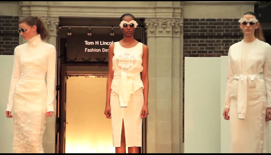 Fashion Student, Tom Lincoln Talks About His Collection For The Recent  Fashion Show In The Quad.