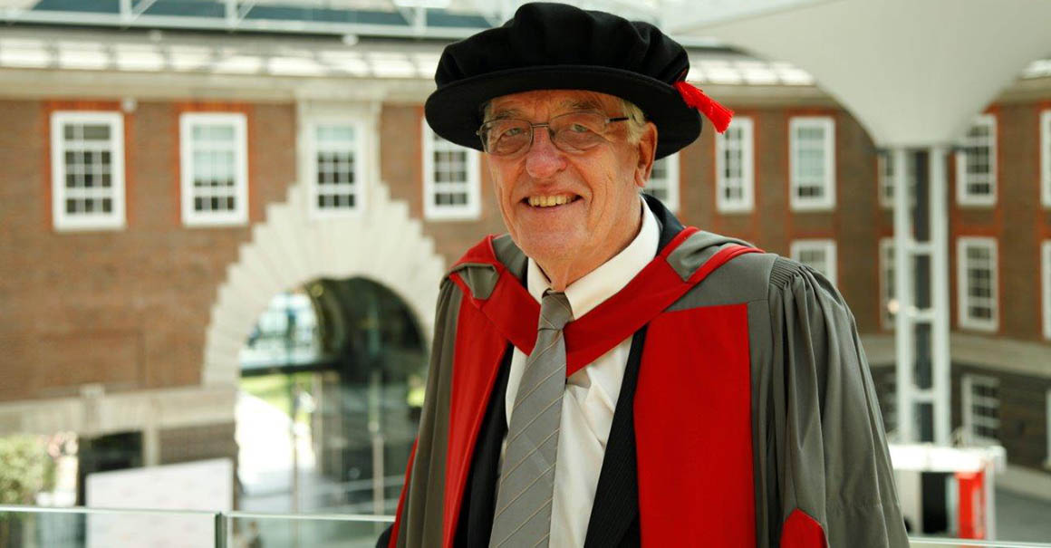 John Lawrence honorary degree Middlesex