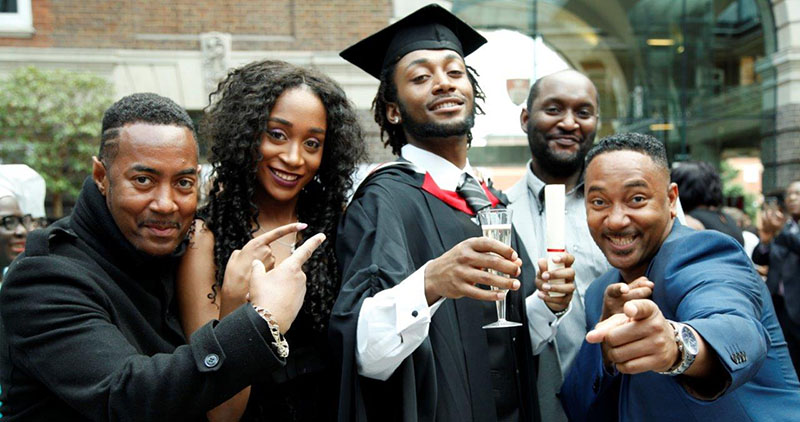 Graduation week Middlesex University
