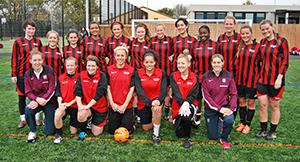 Middlesex women's team