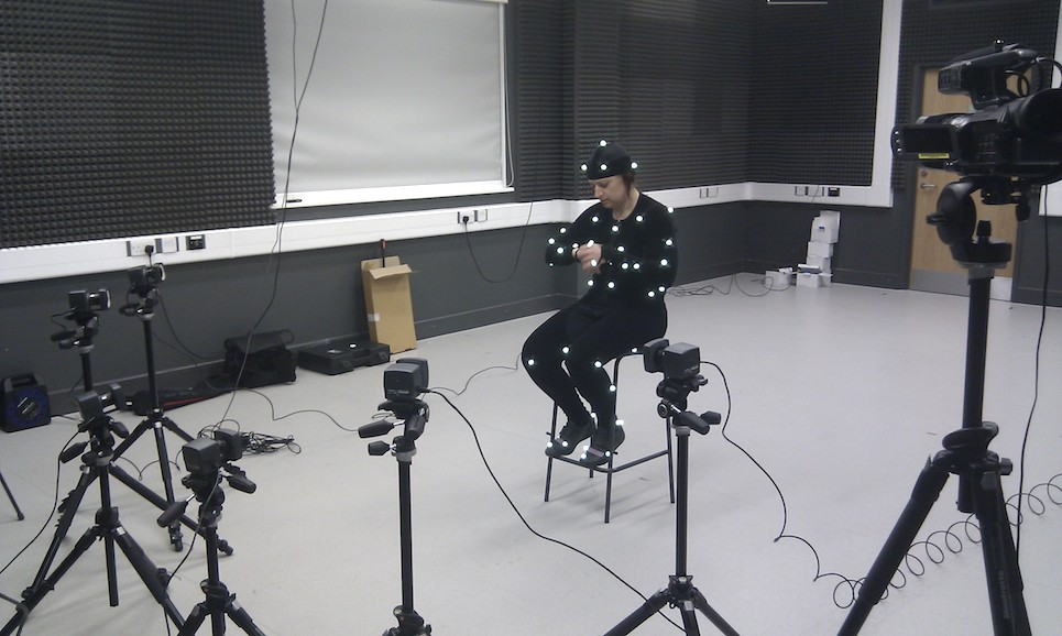 Motion Capture Studio Middlesex University London