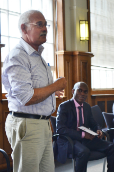 Professor David Lewis and Osita Mba