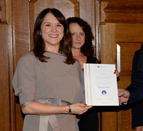 Criminology lecturer receives international award for inspiring work