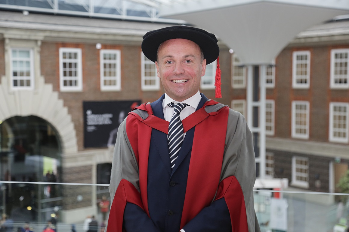 David Buttress, founder of JUST EAT, at graduation
