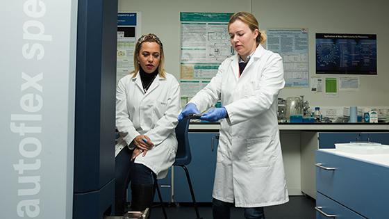 Gut microorganisms research team