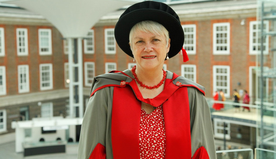 Jane Salvage honorary grad Middlesex