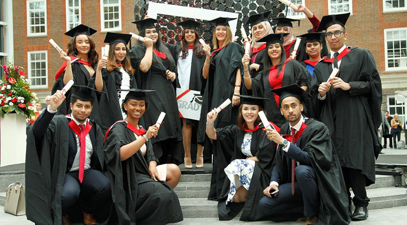 Middlesex University graduation week