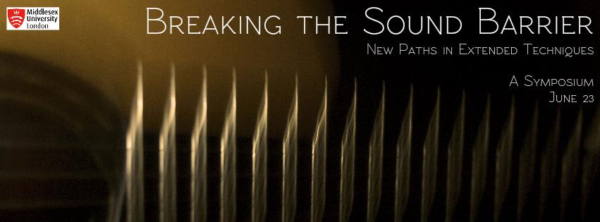 Breaking the Sound Barrier banner