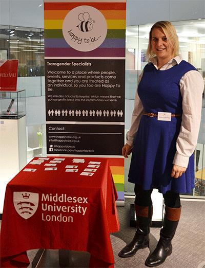 Entrepreneurial Barnet competition winner Rebecca Manning
