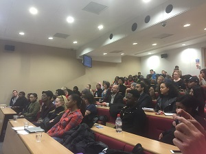 Students and guest of Middlesex University
