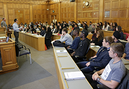 Middlesex University Mooting Chamber