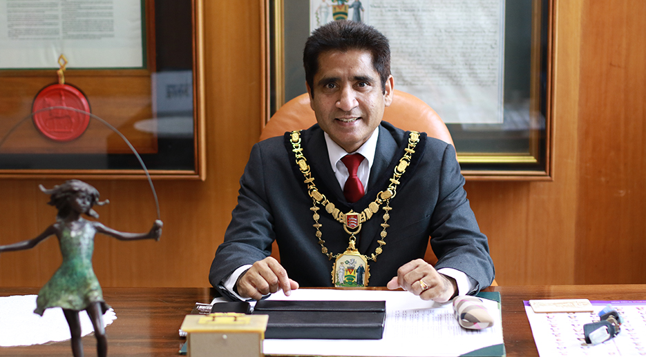 Mayor of Harrow Krishna Suresh