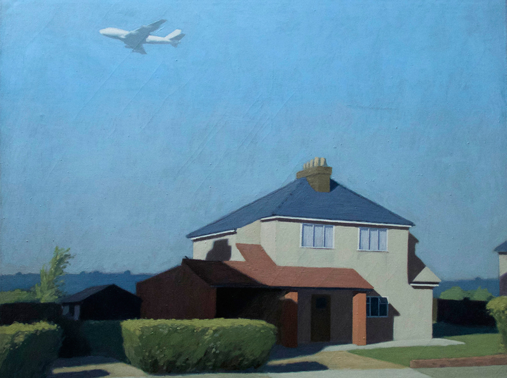 Painting of Ian Fraser's house