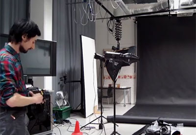 Specialist Facilities: Photographic Studios at Middlesex University