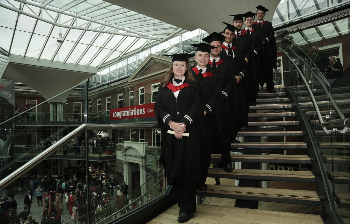 First group of pilots graduating from Middlesex University