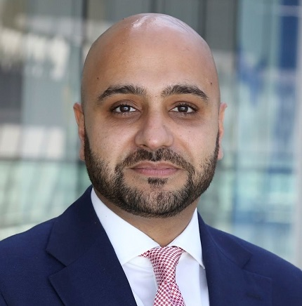 Photo of Asif Sadiq, member of MDX Board of Governors