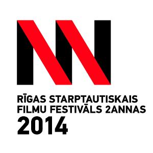 The 2Annas Riga International Film Festival logo