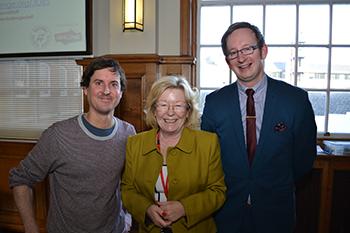 Elaine Elson, Hugh Fossik and Graeme Butler