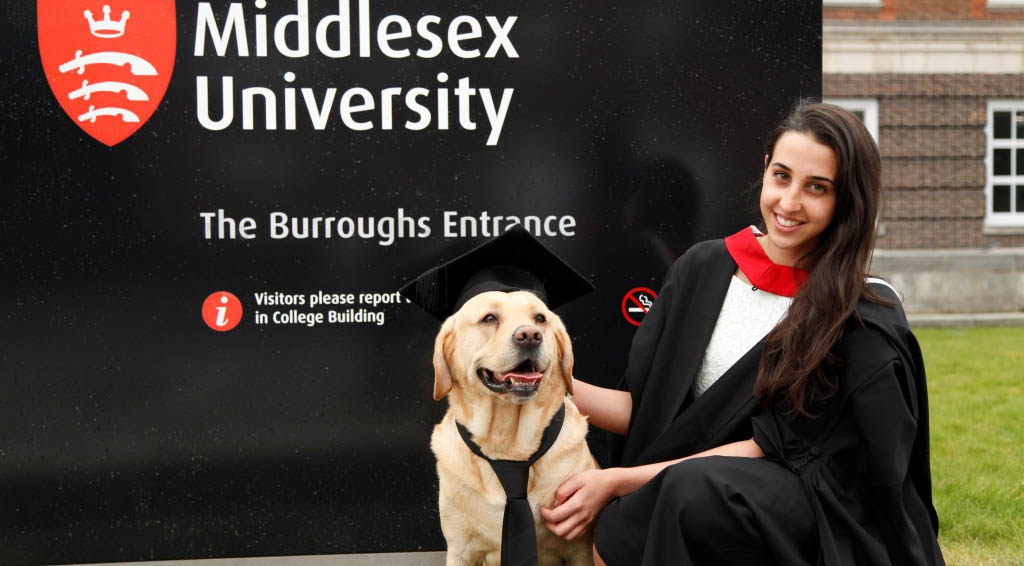 Graduation week middlesex university