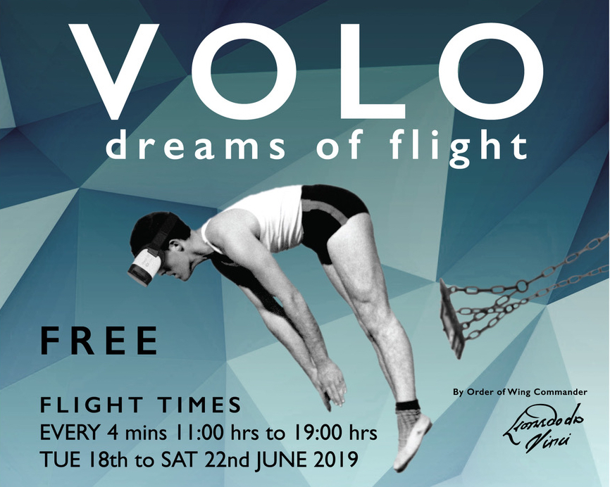 MDX team creates experience that gives the sensation of flying, with Da Vinci tribute Volo