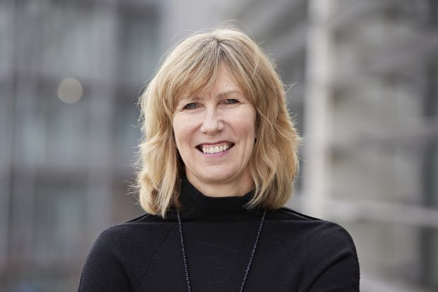 Photo of Liz Barnes, member of MDX Board of Governors from January 2022