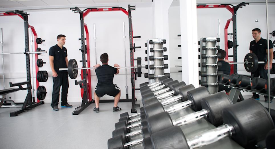 Strength training room_web