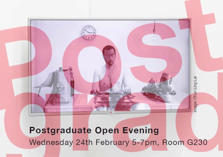 MA postgraduate open evening middlesex uni art design