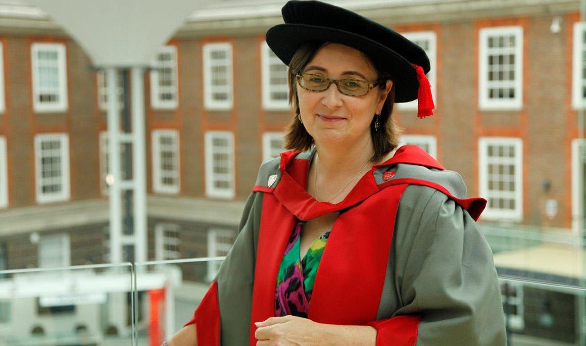 Nikki Bradley honorary graduate