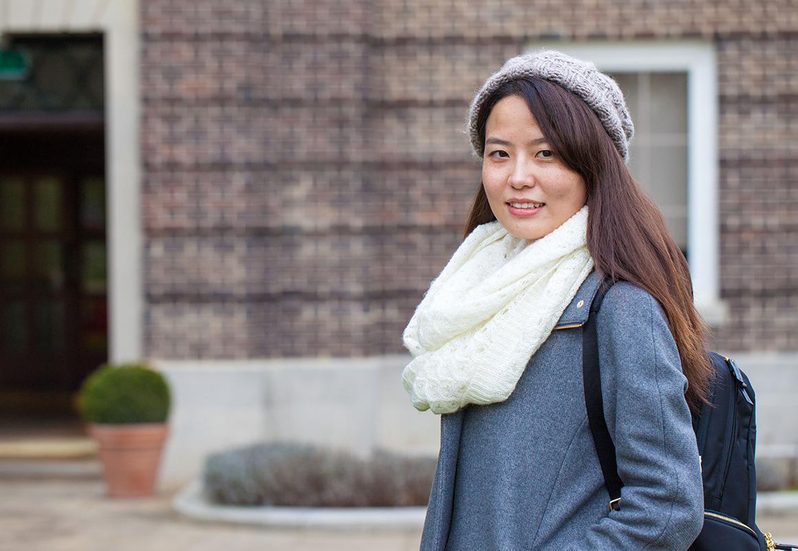 Meet Shuang from China