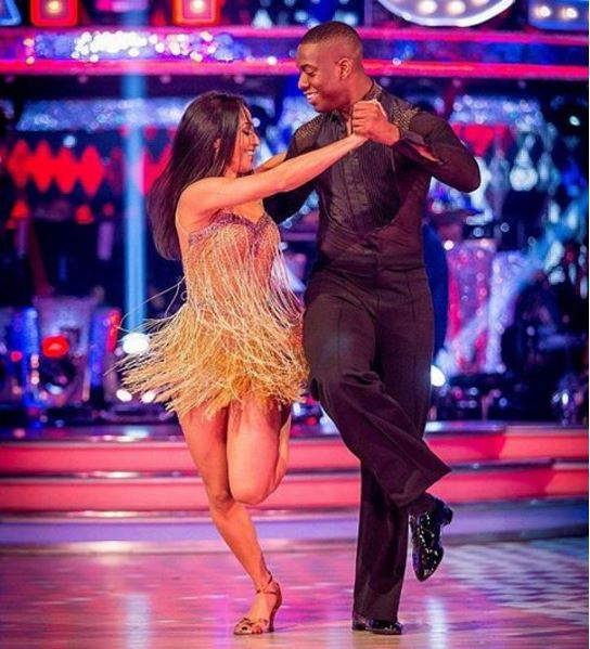 Lutalo Muhammad and his partner Karen Clifton