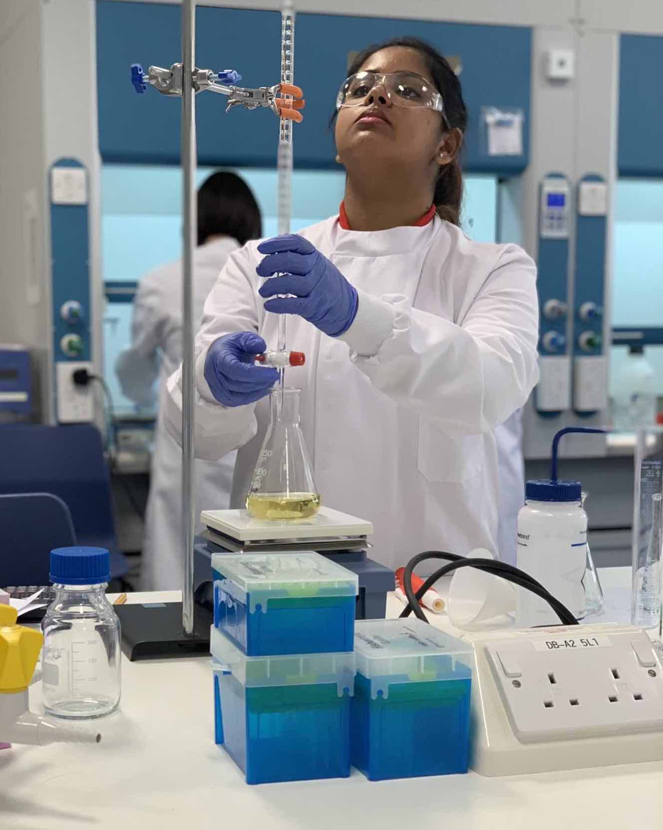 MDX Biotechnology student Lavanya Hemanth chosen for WorldSkills UK squad