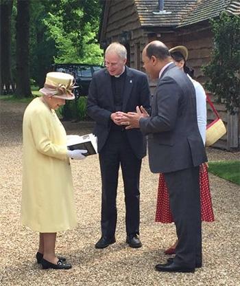 Kurt Barling HM The Queen