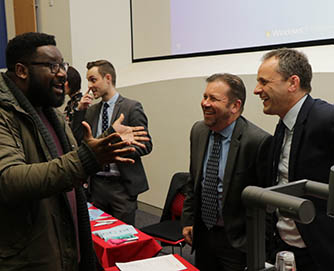 Accounting and finance students receive career guidance at employability event