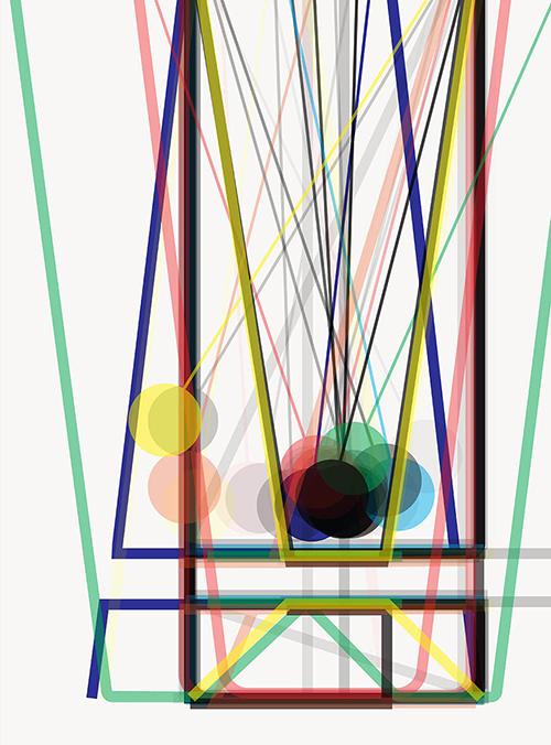 Art work from Anissa Rahmen BA Graphic Design