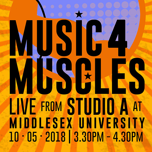 MDX graduate to hold live fundraising broadcast, Music 4 Muscles