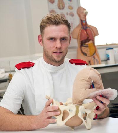 Stephen McManus Midwifery student