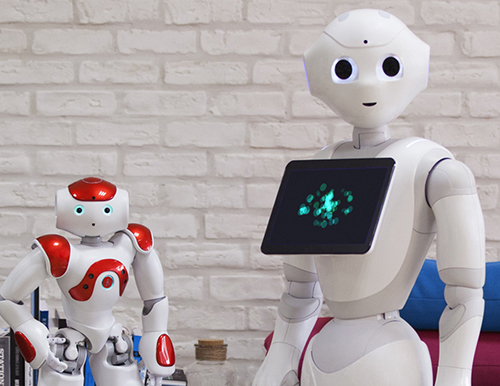 Pepper a robot by Softbank Robotics