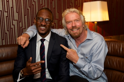 Middlesex student wins award and master class with Richard Branson