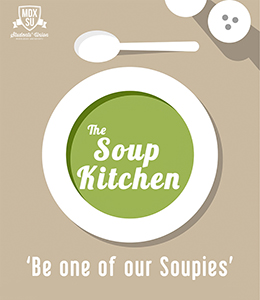 Soup kitchen poster