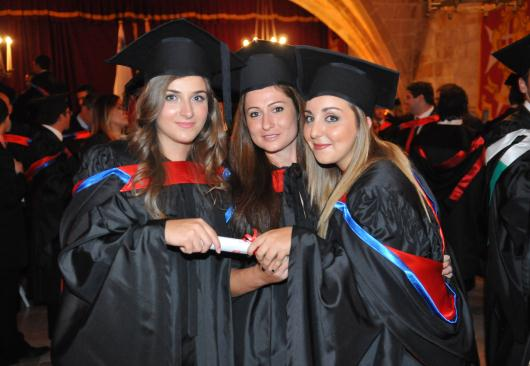 Graduation at Middlesex Malta