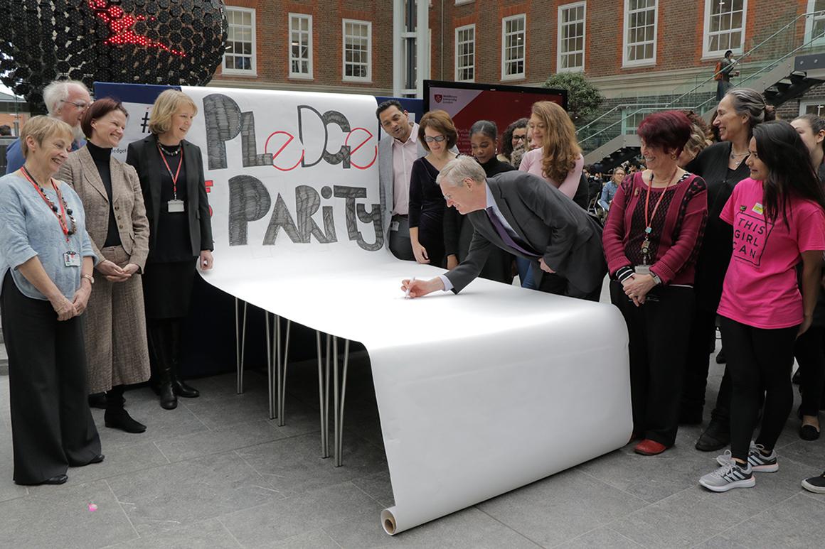 Pledge for Parity