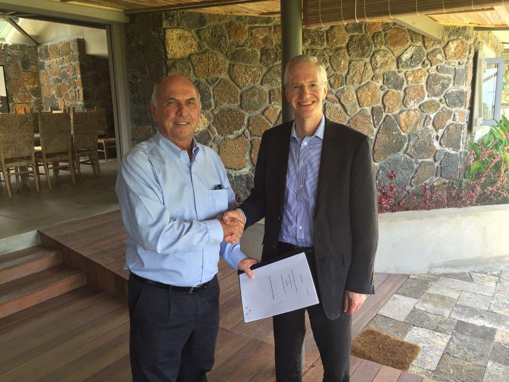 Mauritius signing