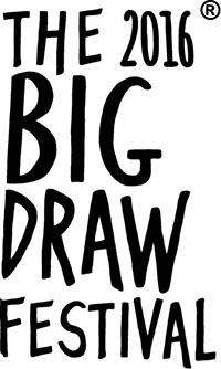 The big draw festival logo
