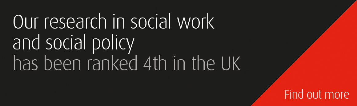 Social work REF results