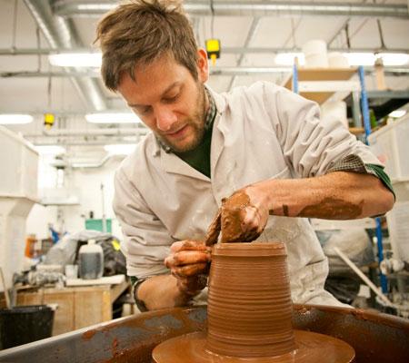 Owen Wall ceramics Middlesex University