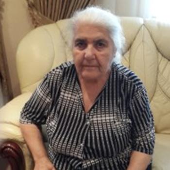 Lena Sargsyan at home in 2013