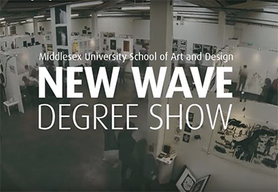 MDX New Wave Art & Design Degree Show